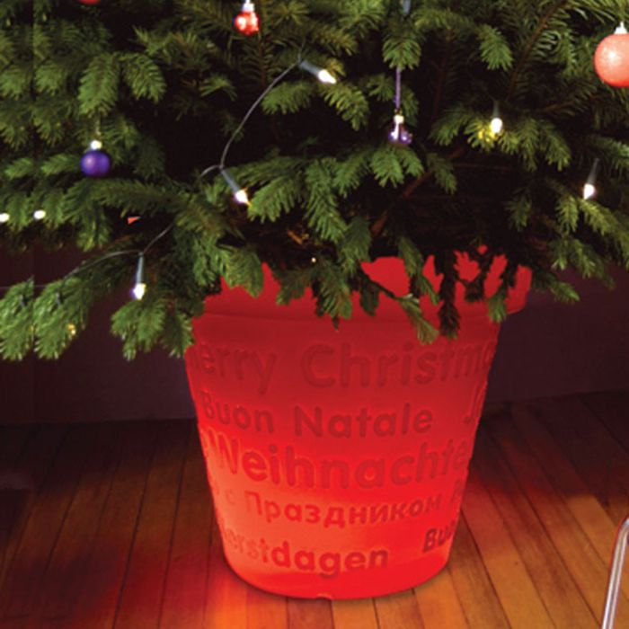 Pot lumineux BLOOM X-Mas 50 cm