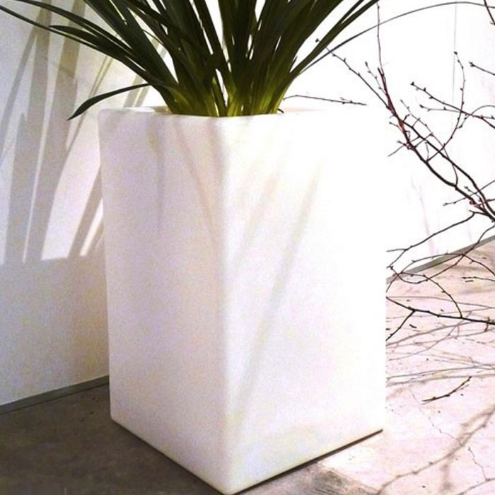 Pot lumineux BLOOM Square 80 cm