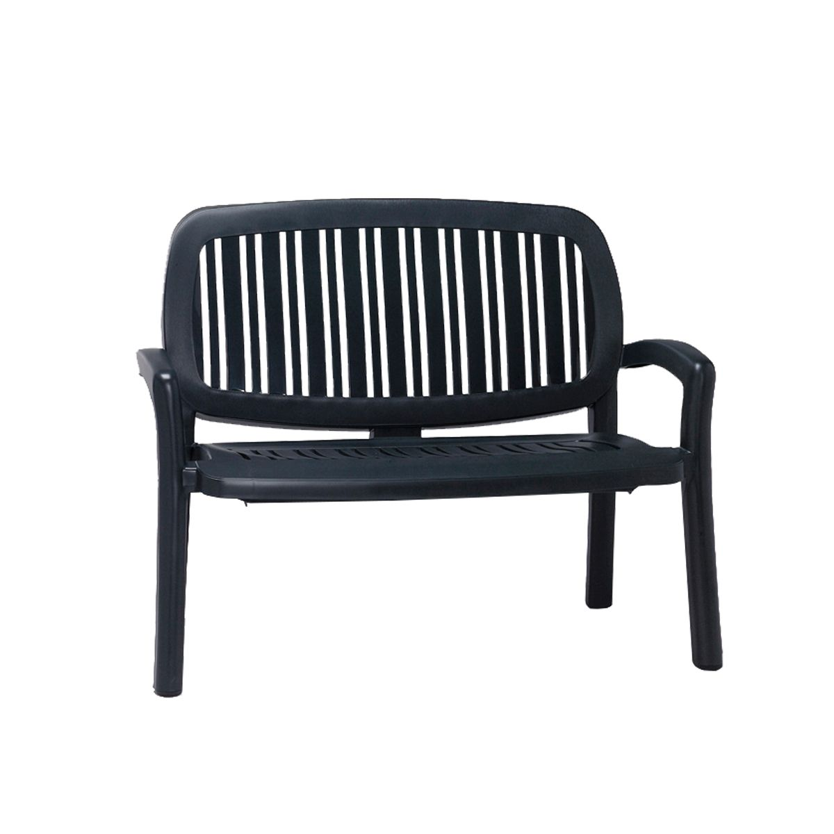 Banc 2 places empilable design nardi lipari zendart design - Banc de jardin 2 places ...