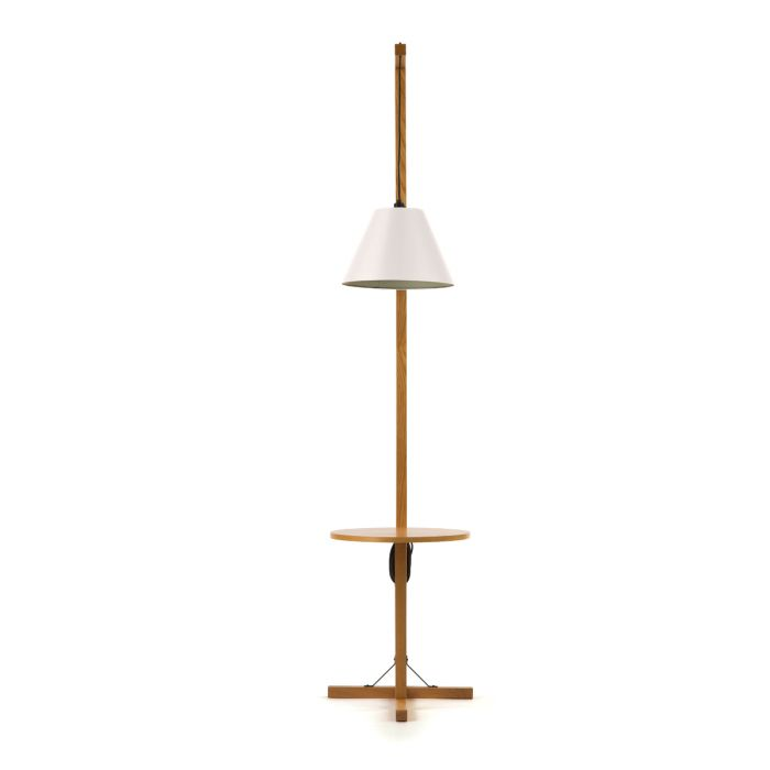 Floor Lamp Table WoodMan