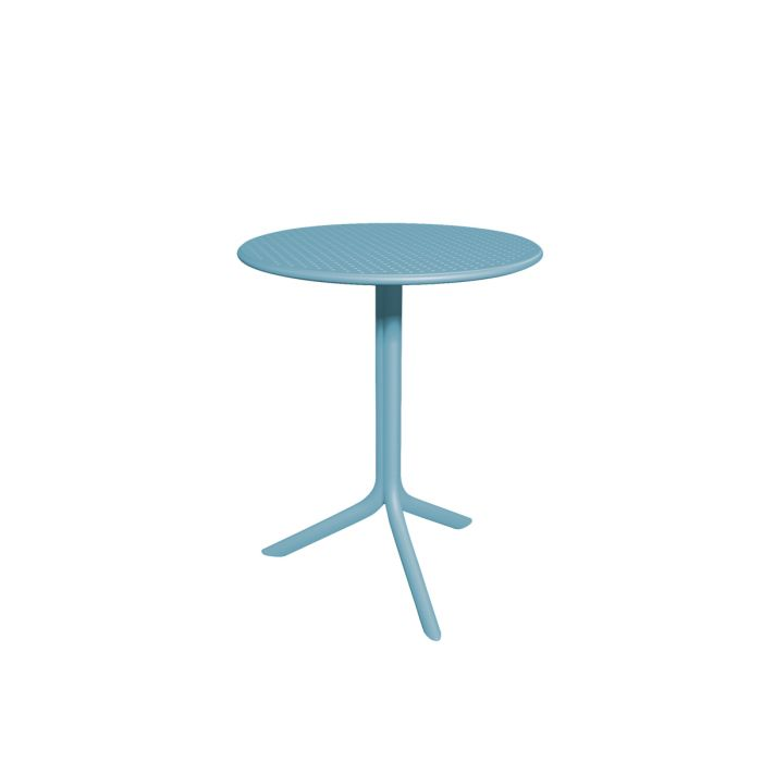 Table jardin ronde design nardi step 60 cm zendart design for Meuble de jardin nardi