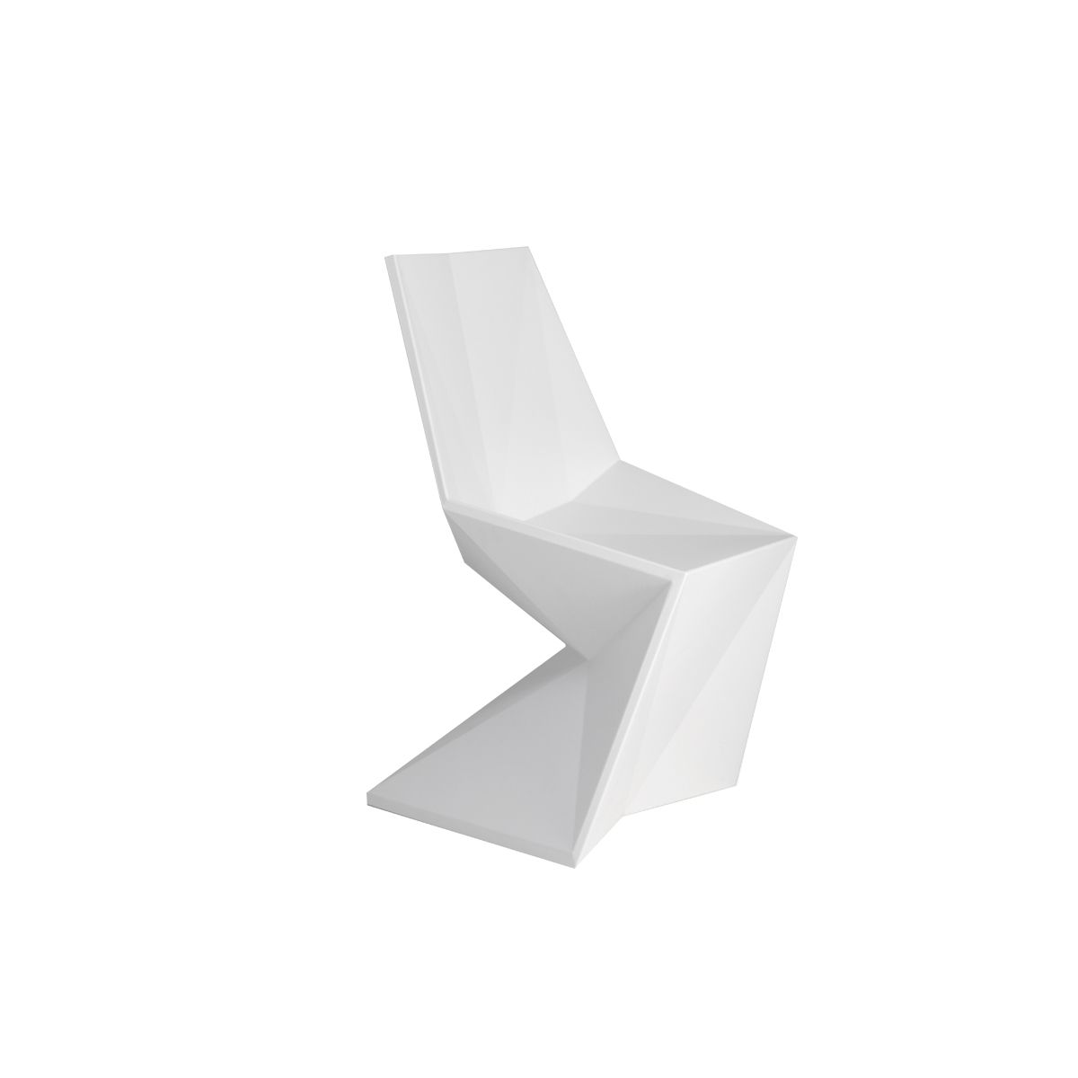 Chaise salle a manger design led vertex vondom zendart design - Chaise exterieur design ...