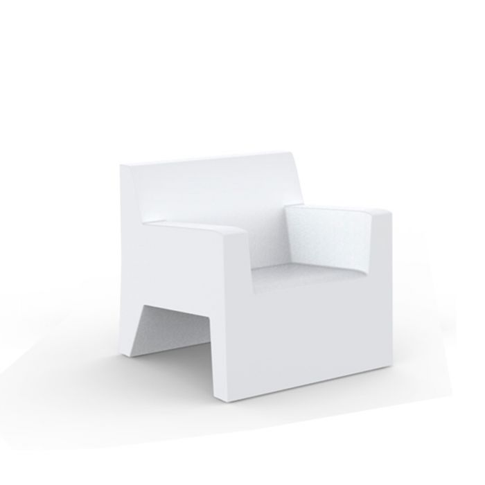 fauteuil lounge d ext rieur jut par vondom. Black Bedroom Furniture Sets. Home Design Ideas