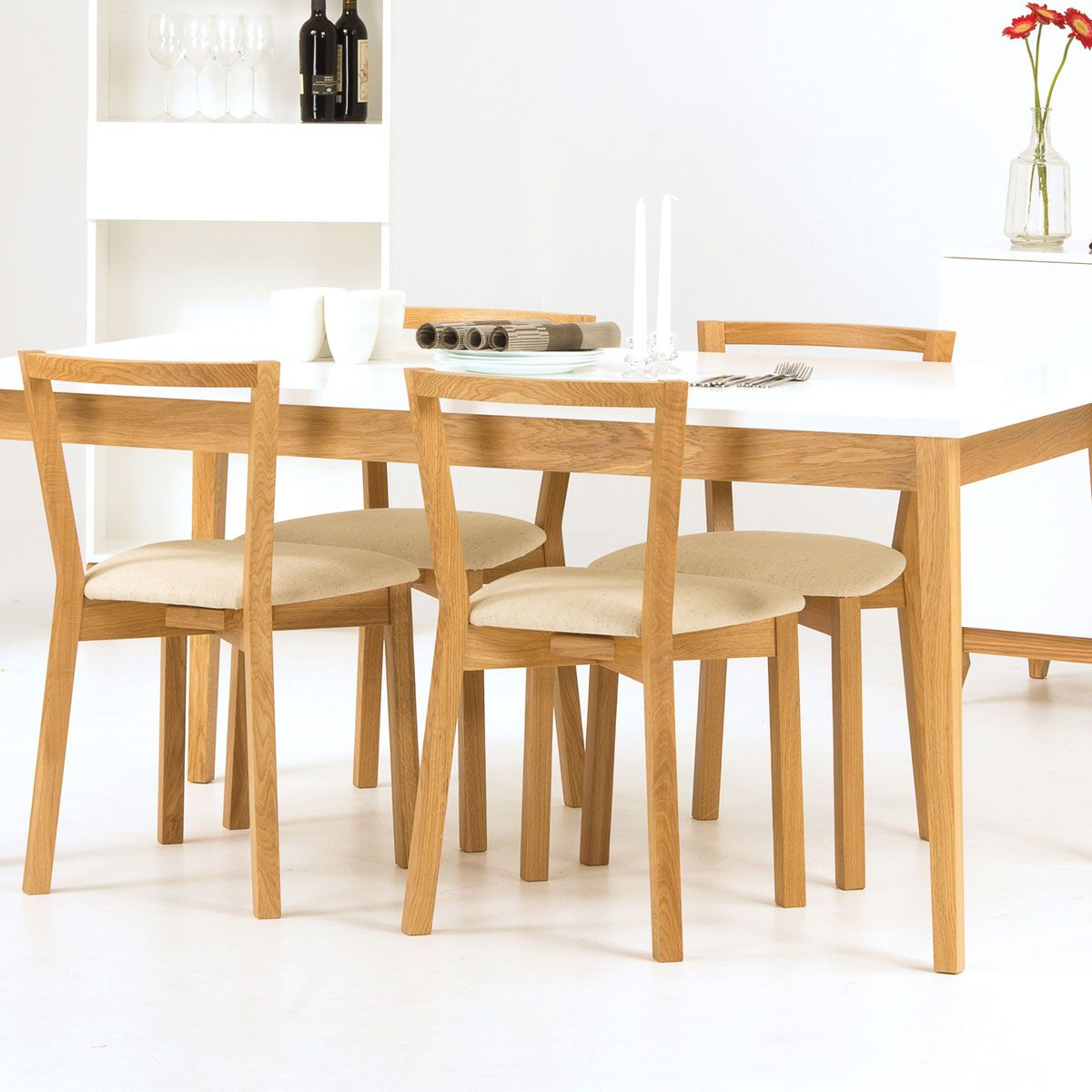 Wood Man Table ~ Chaise de table stockholm woodman