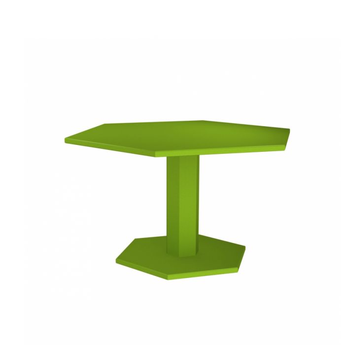 Table de repas Hexagonale design indus ZHED