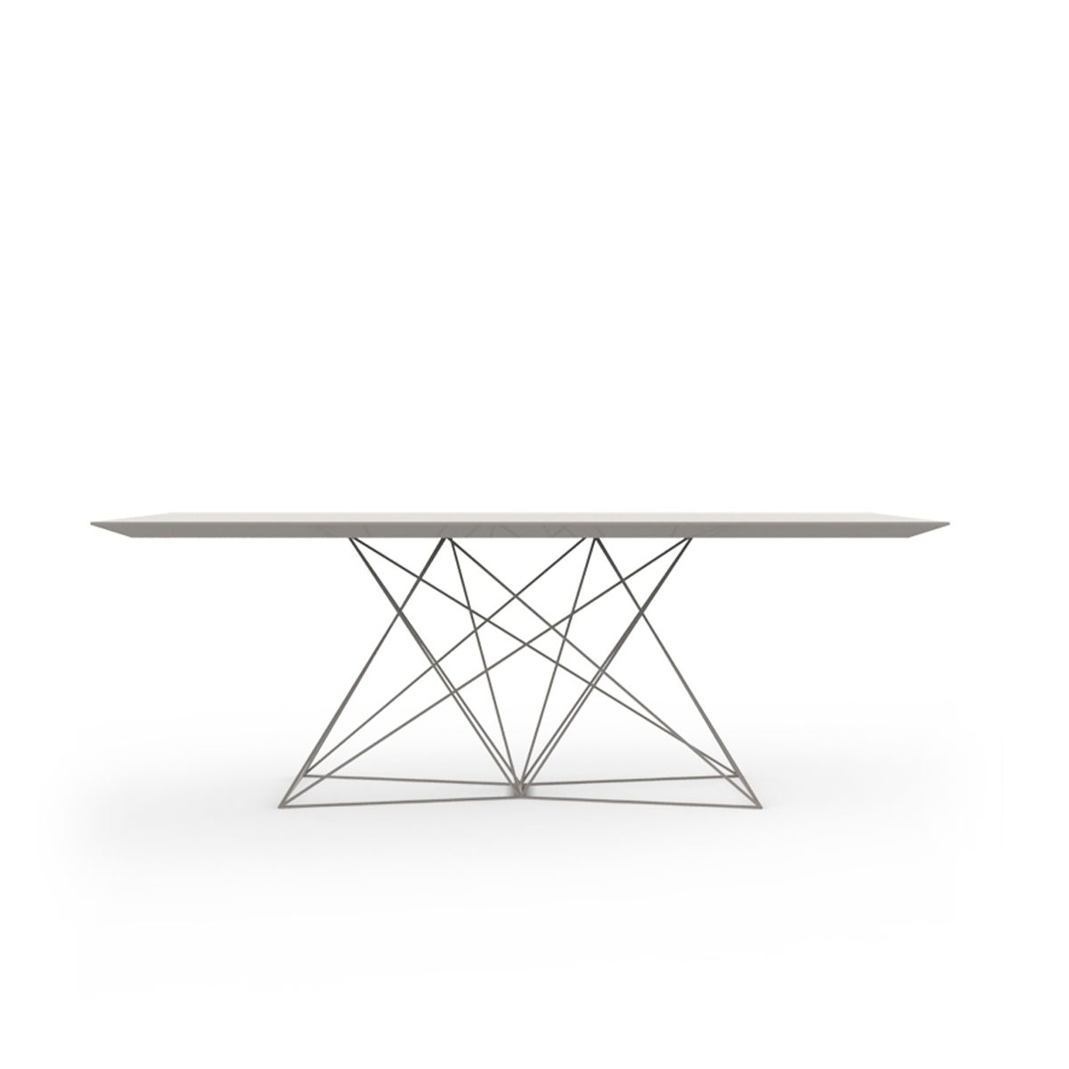 Table de repas design faz inox hpl vondom for Table exterieur hpl