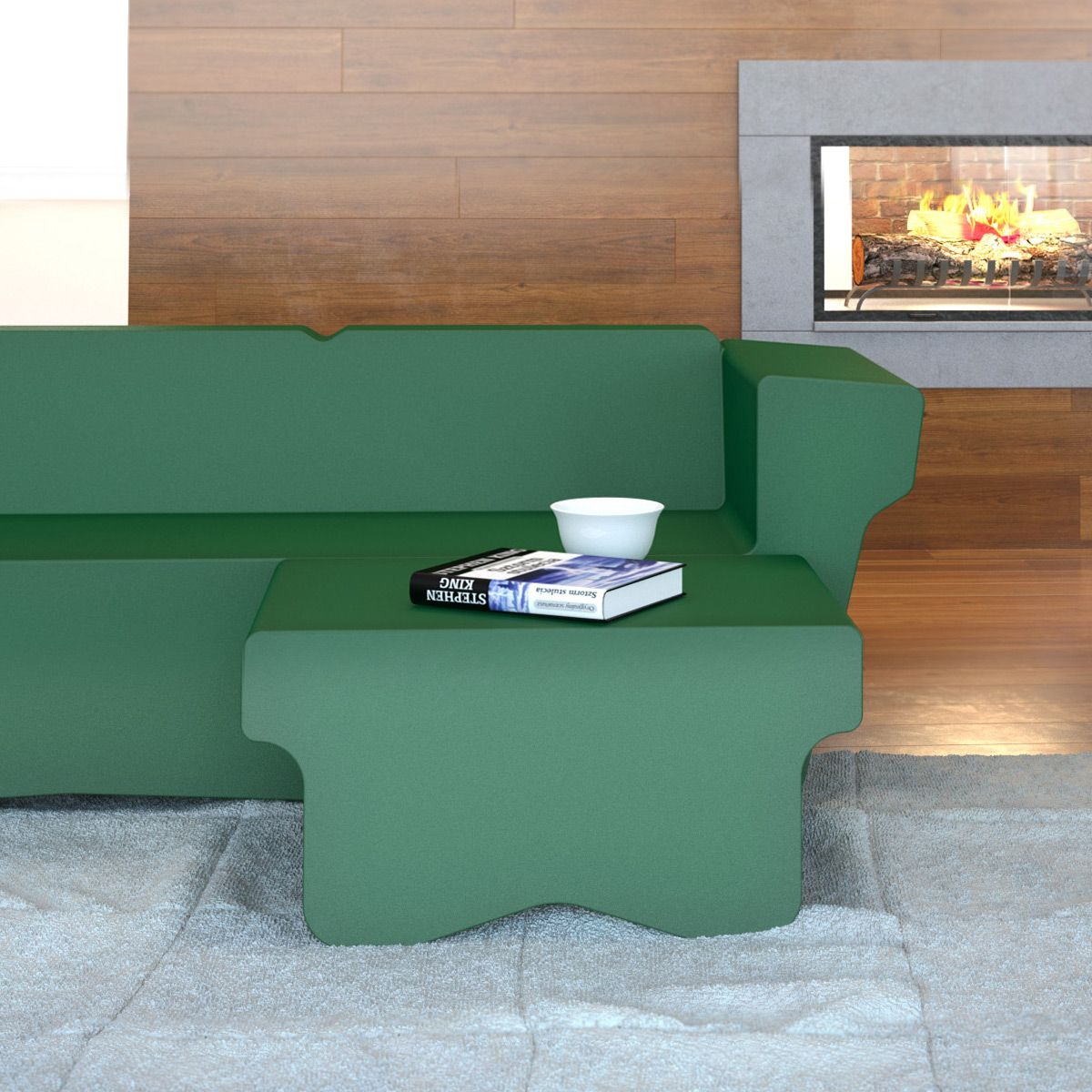 pouf table basse wingchester stratta ebay. Black Bedroom Furniture Sets. Home Design Ideas