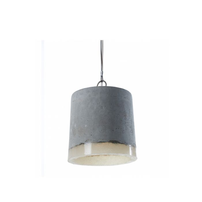 Lampe suspendue lamp beton serax zendart design for Suspension lumineuse