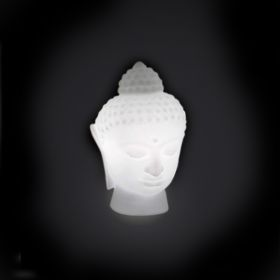 Lampe de table design SLIDE Buddha, LED RGB