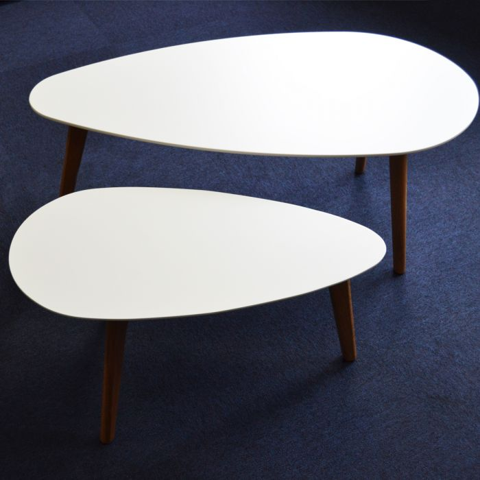 Tables basses gigognes design compas zendart design - Table basse rose ...
