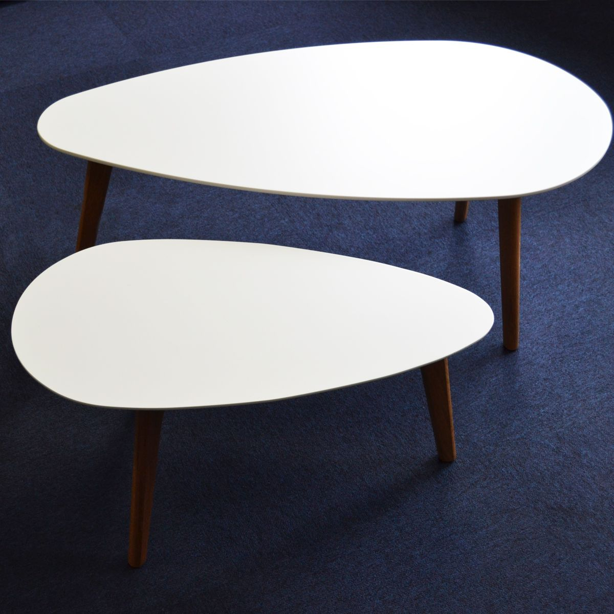 Tables basses gigognes design compas zendart design - Table basse gigogne design ...
