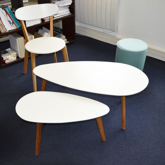 Tables basses gigognes design compas zendart design - Table gigogne design ...