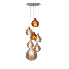 Lampe suspension Circé 7 CONCEPT VERRE