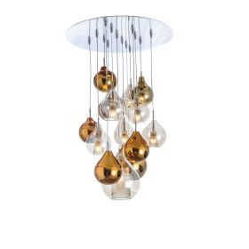 Grande suspension design Circé 14 CONCEPT VERRE