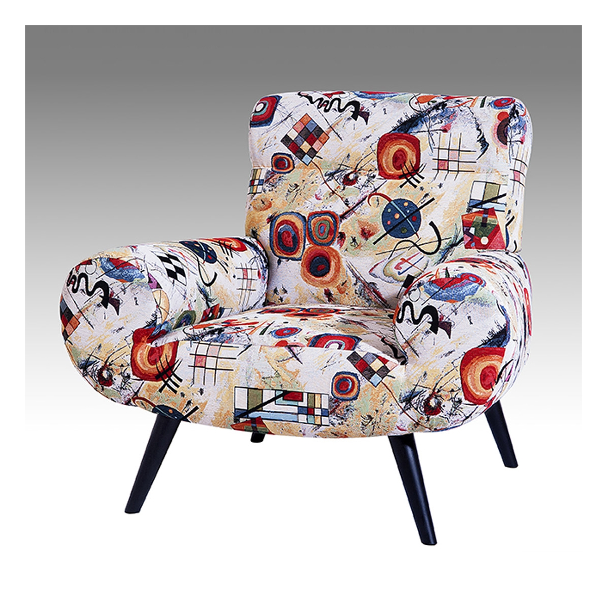 Fauteuil contemporain design Calipso ALC - Zendart Design