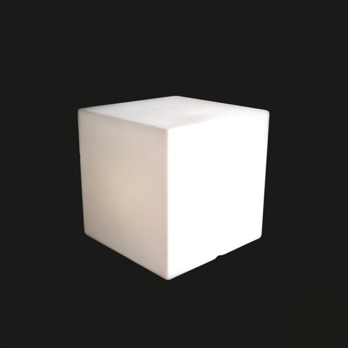 Table basse design lumineuse SLIDE Cubo 40 cm LED RGB
