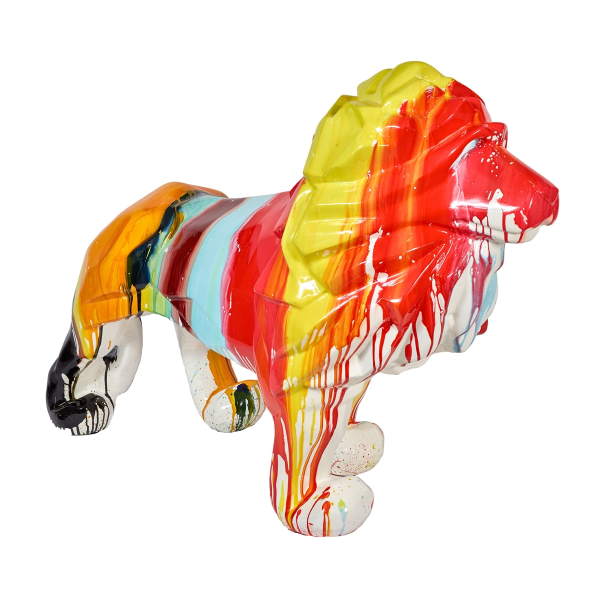 Statue lion design zendart design s lection zendart design for Objet de decoration interieur design