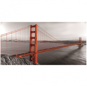 Impression sur Verre design Golden Gate LACORNE DECORATION