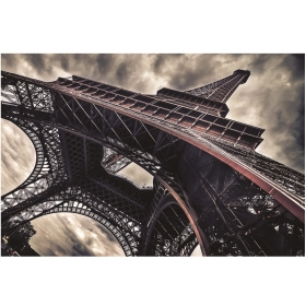 Tableau Tour Eiffel en impression sur verre design LACORNE DECORATION