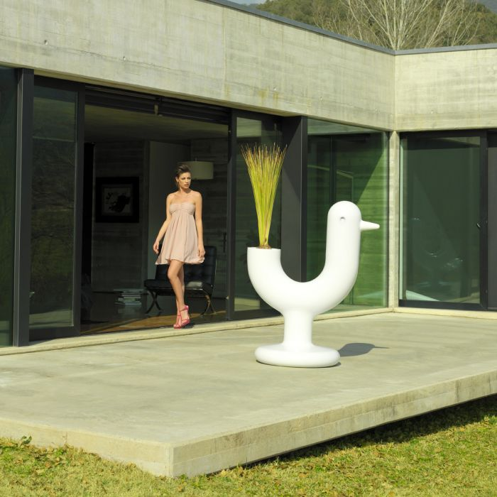 Pot design VONDOM Peacock