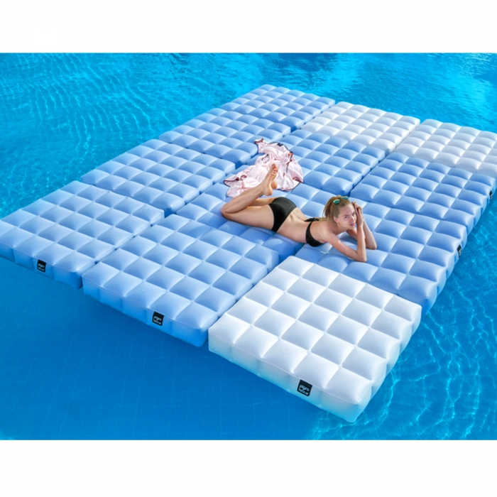 Gallery Of Matelas Gonflable Pour Piscine Cm X Cm Pigro Felice With Coussin  Piscine