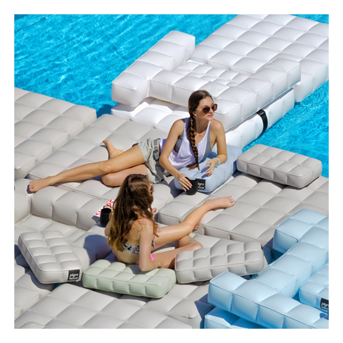 transat gonflable piscine latest jilong u fauteuil. Black Bedroom Furniture Sets. Home Design Ideas