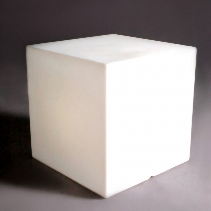 Table basse design lumineuse Cubo 40 cm SLIDE