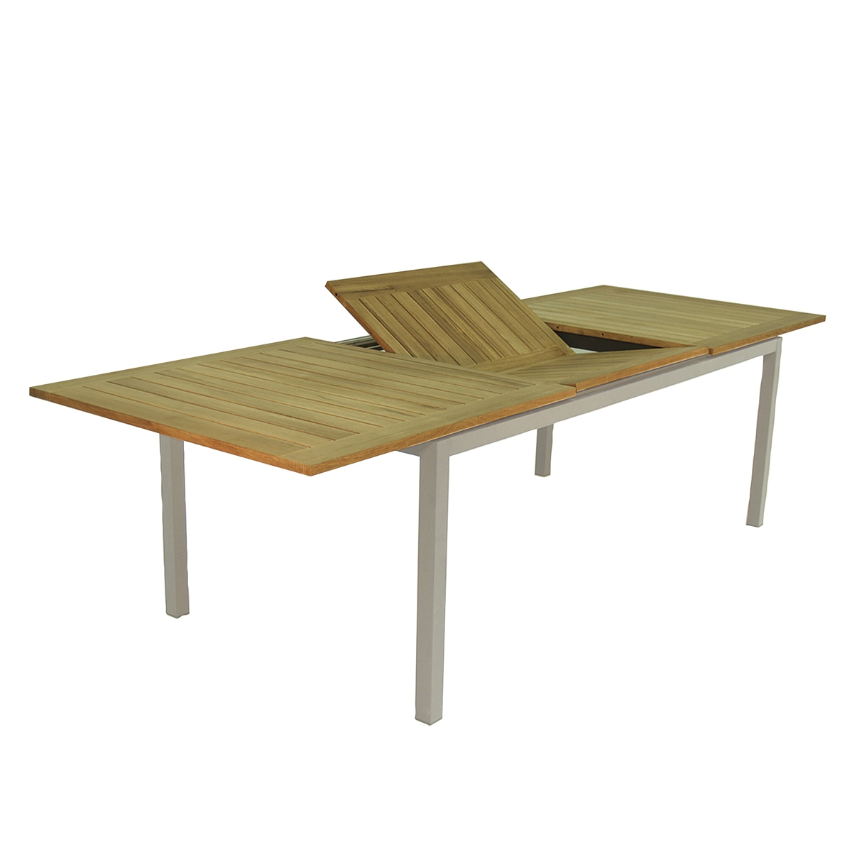 Table de jardin extensible jupiter tresi zendart design - Table de jardin design ...