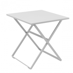 Table exterieur pliante alu carré Rosy TRESI