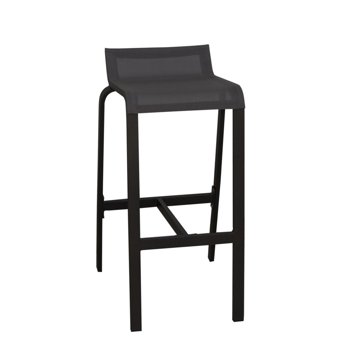 tabouret aluminium jardin terrasse luis tresi zendart. Black Bedroom Furniture Sets. Home Design Ideas