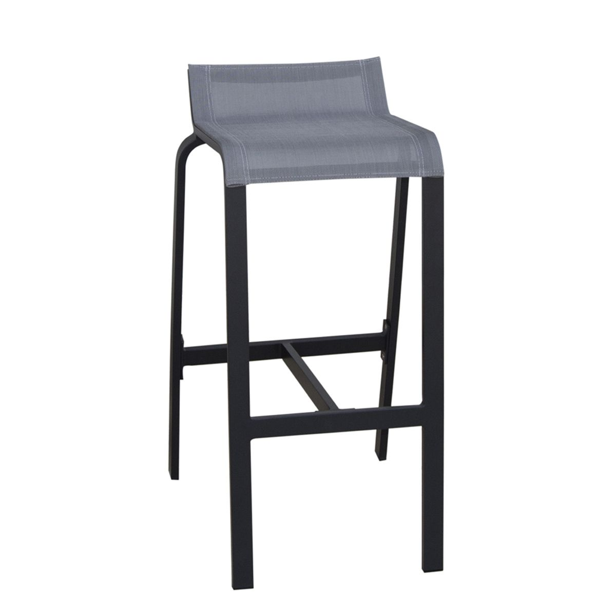 tabouret bar aluminium maison design. Black Bedroom Furniture Sets. Home Design Ideas