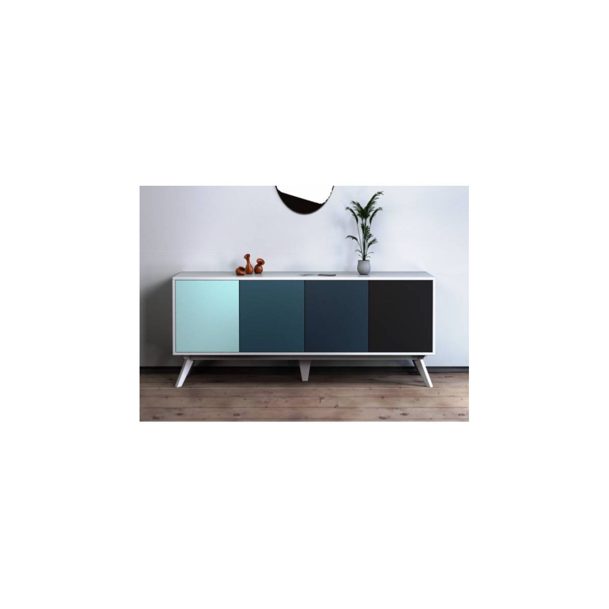 Portes Buffet Zendart Design 4 Wall2time Personnalisable hdstxQrC