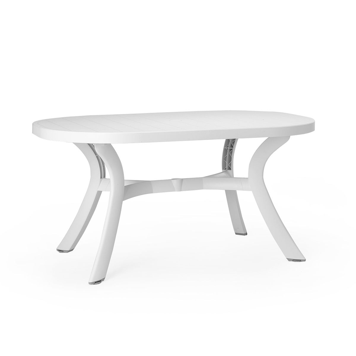 Table de jardin plastique Toscana ovale - Zendart Design