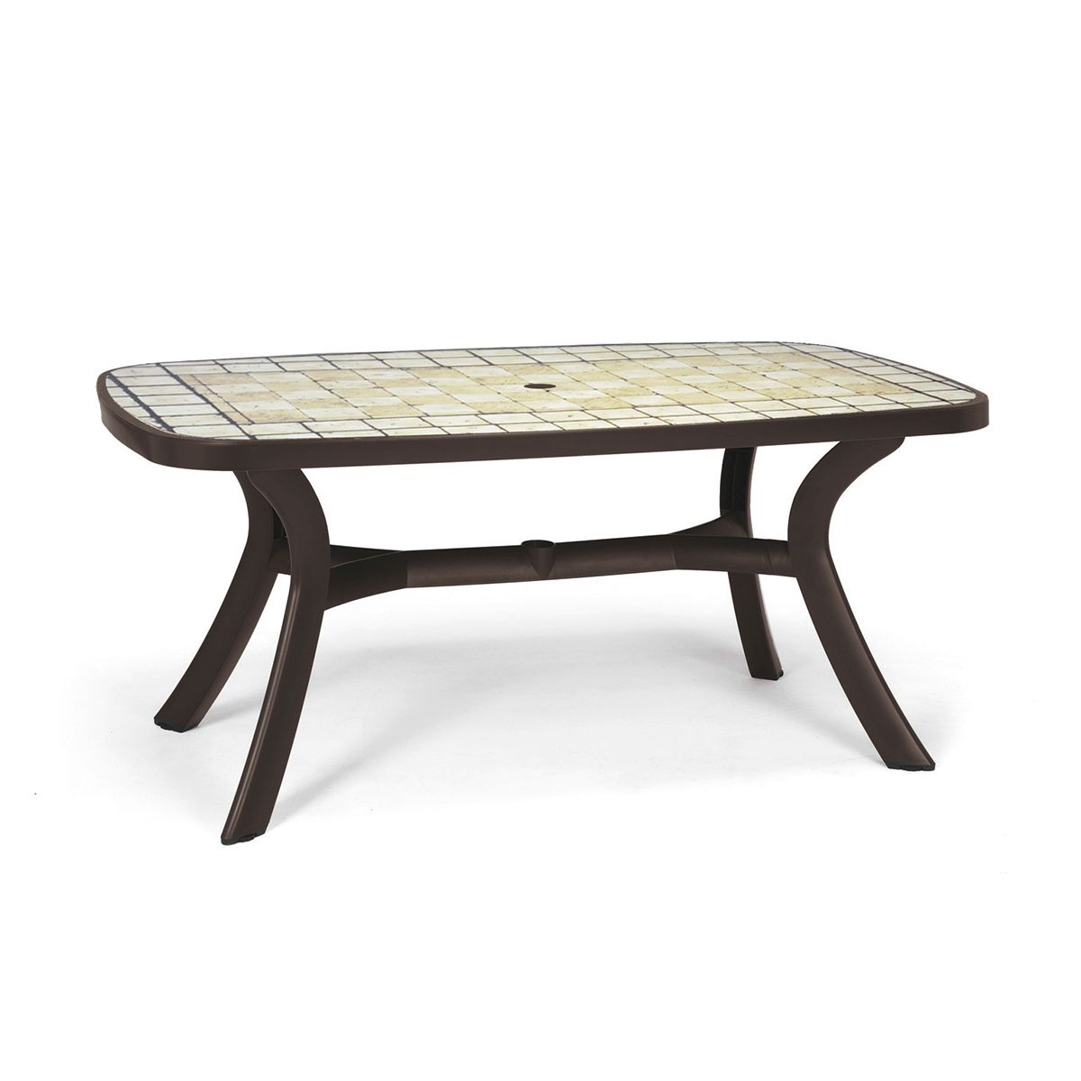 Table d montable ovale nardi toscana 165 tables manger for Meuble de jardin nardi