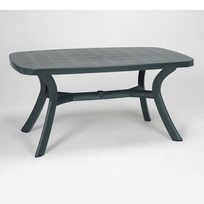 Table d montable ovale nardi toscana 165 tables manger for Table ovale 6 personnes