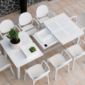 Table rectangulaire extensible Jardin & Terrasse Levante 160-220 cm NARDI
