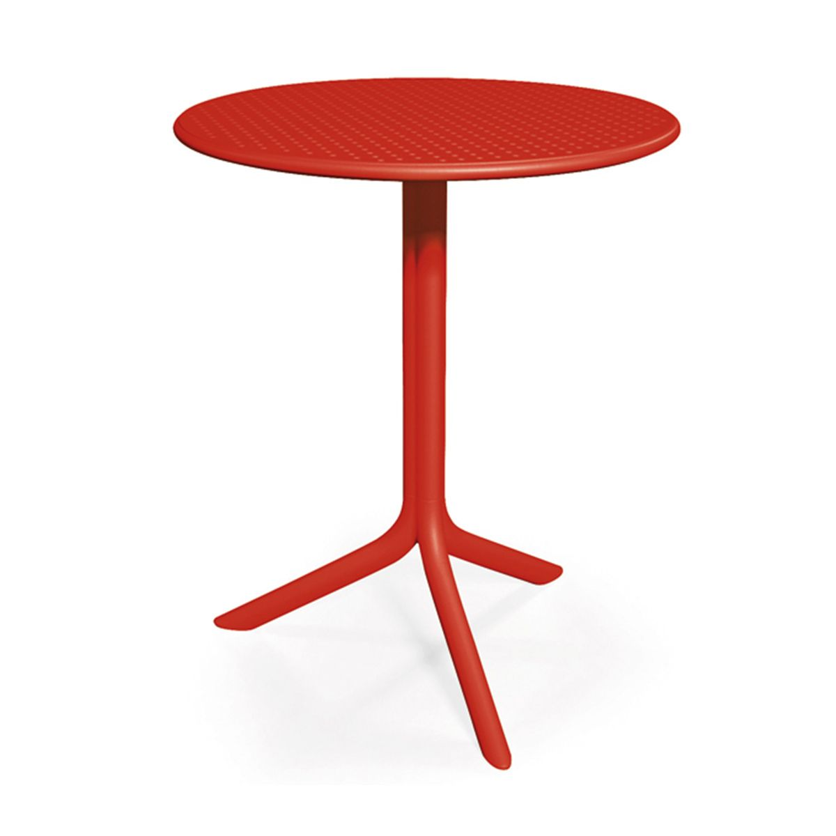 Table jardin ronde design nardi step 60 cm zendart design - Table de jardin design ...
