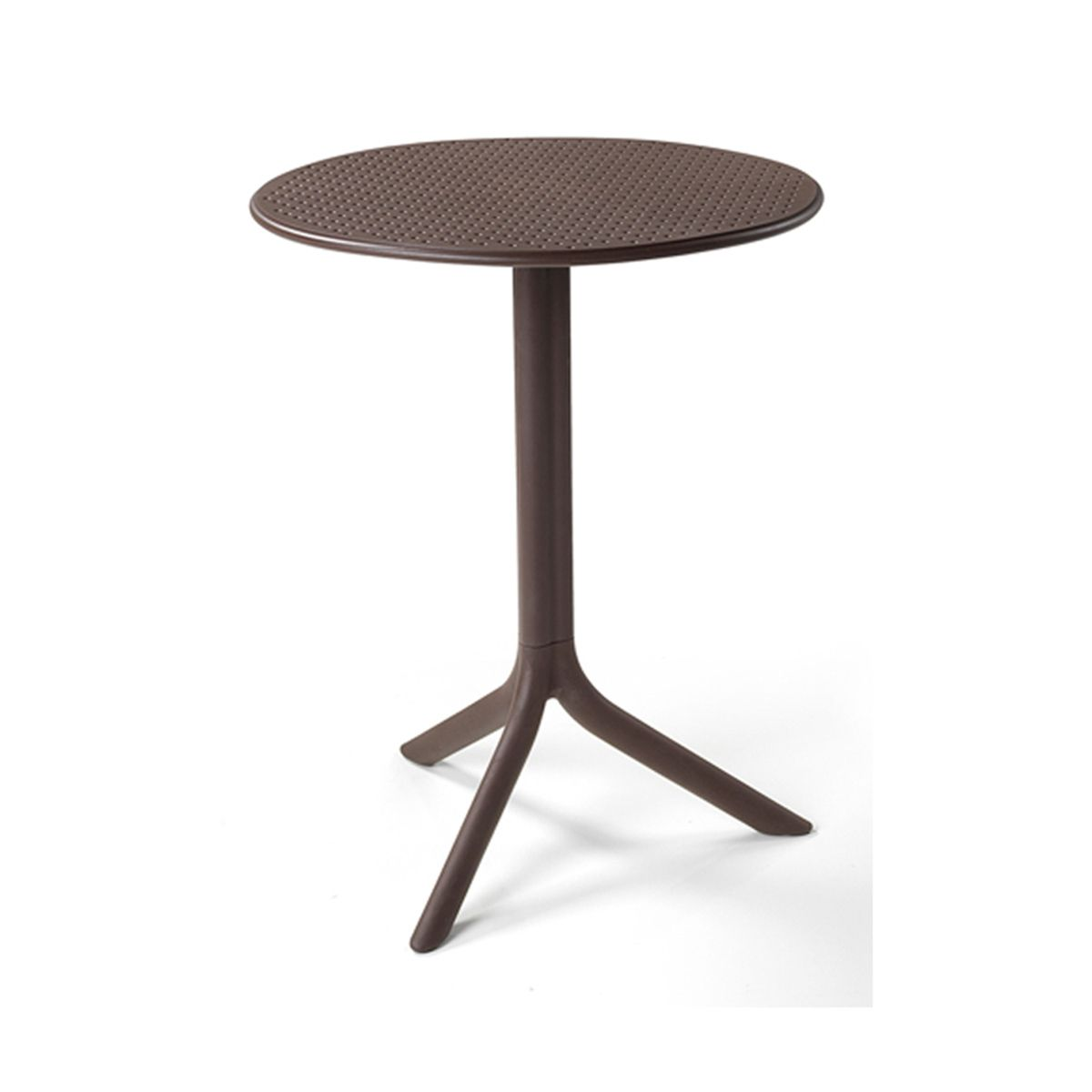Table Jardin Ronde Design Nardi Step 60 Cm Zendart Design