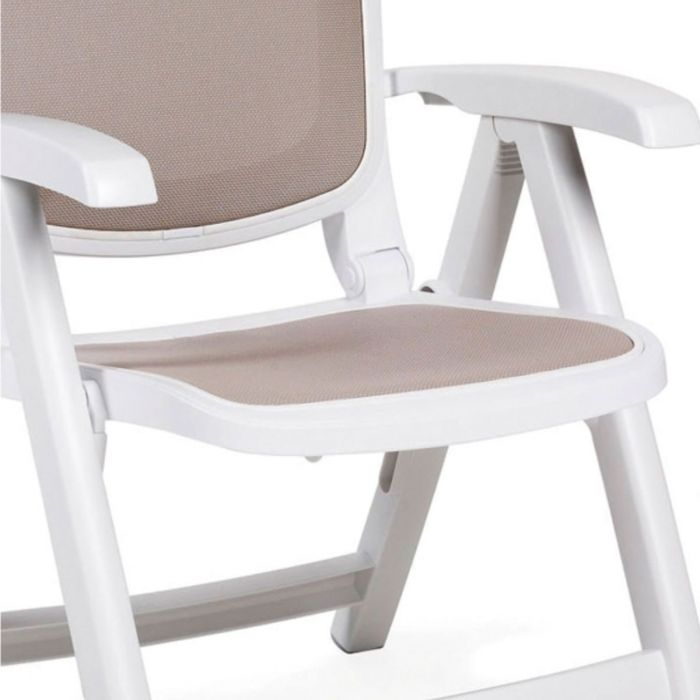 Fauteuil Inclinable 5 positions pour jardin Delta NARDI