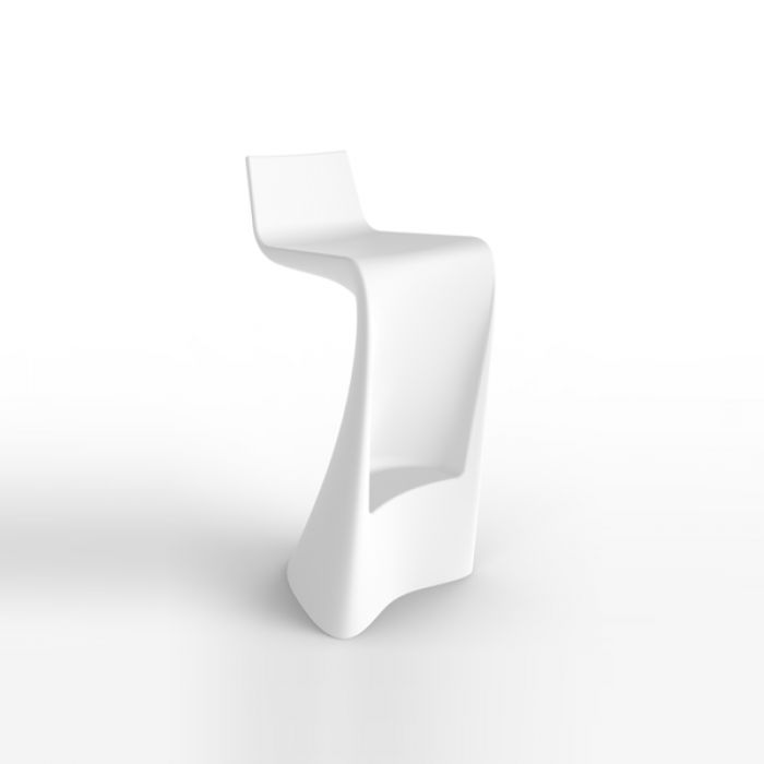 Chaise de bar Haute, Design & Lumineuse Wing VONDOM
