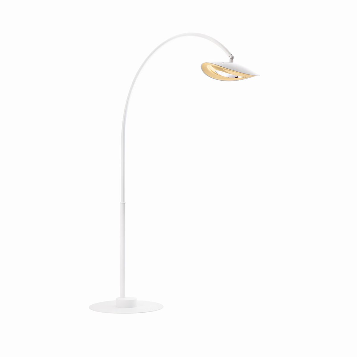 Lampadaire simple chauffant arc long phormalab hotdoor for Lampe chauffante exterieur