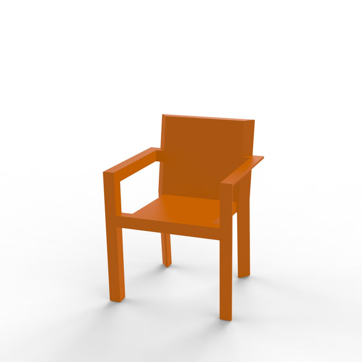 fauteuil de table design frame vondom zendart design