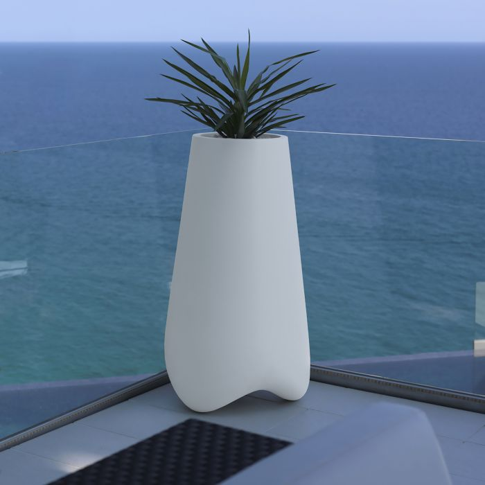 Grand pot de fleur lumineux vlek 100cm vondom zendart design for Interieur exterieur