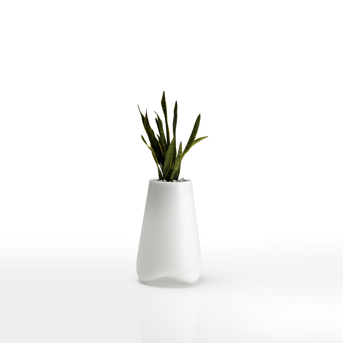 Grand pot de fleur color vlek 100cm vondom zendart design for Interieur exterieur