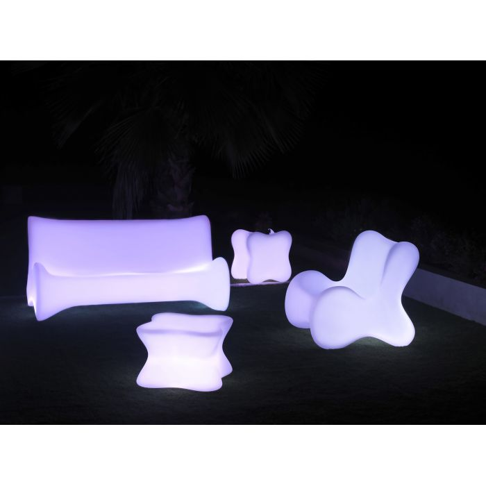 Sofa VONDOM Doux, LED RGB