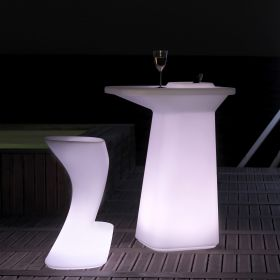 Table haute MOMA design LED RGB Vondom