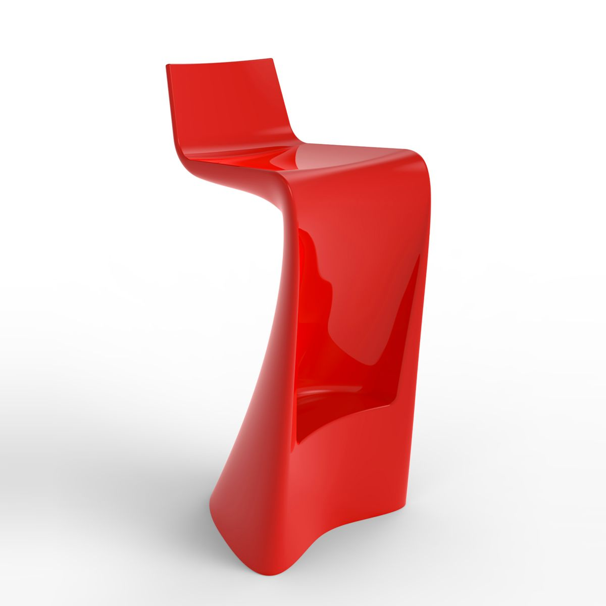 Tabouret de bar contemporain wing vondom zendart design for Tabouret bar contemporain