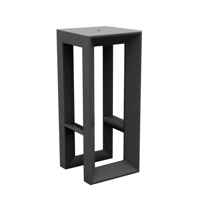 tabouret haut d ext rieur design frame par vondom mat. Black Bedroom Furniture Sets. Home Design Ideas