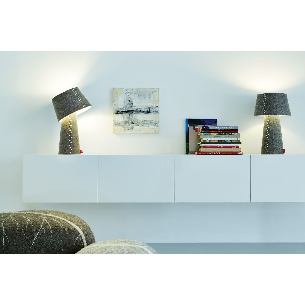 lampe de chevet moderne moree zendart design. Black Bedroom Furniture Sets. Home Design Ideas