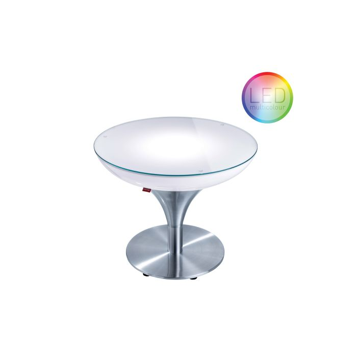 Table Lounge M Indoor LED PRO + Batterie MOREE